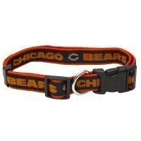 "1"" chicago BEARS ADJ 20-26"" COLLAR"