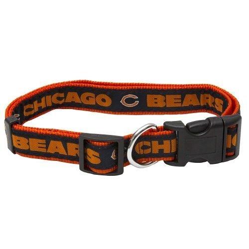 "1"" chicago BEARS ADJ 20-26"" COLLAR"