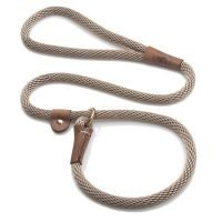 "3/8"" LEASH PP DIAMOND 6' BROWN"