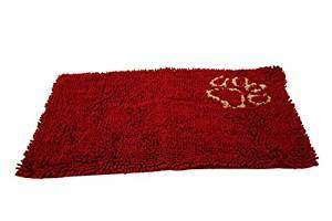 CLEAN PAWS 31X20 MAT RED