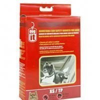 DOGIT CAR SAFETY HARNESS BLACK