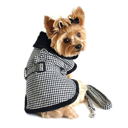 HARNESS-COAT HOUNDSTOOTH B/W S