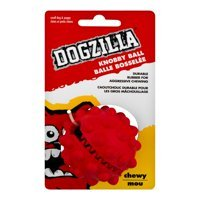 DOGZILLA KNOBBY DOG TREAT BALL