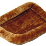 QUIET TIME DOG BED CINNAMON