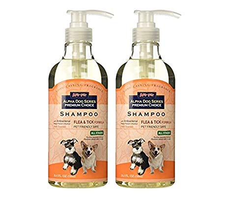 ALPHA DOG SHAMPOO FLEA/TICK