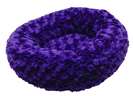 DOGIT DONUT BED ROSEBUD PURPLE