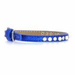 "3/8"" COLLAR PP PEARL 5-7"" BLUE"