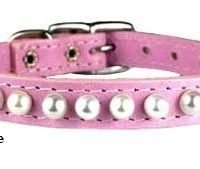 "3/8"" COLLAR PP PEARL 5-7"" ROSE"